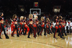 2009 11 04_8432.jpg (kylures) Tags: basketball cheerleaders dancers spirit knights louisville ncaa ladybirds ul cardinals bellarmine uofl freedomhall ncaabasketball collegecheerleaders