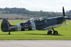 G-BMSB - MJ627 - CBAF.7722 - Private - Supermarine 509 Spitfire T9 - Duxford - 060903 - Steven Gray - CRW_5686