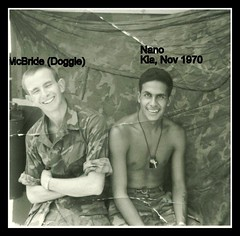 Doggie and Nano (eks4003) Tags: friends usmc war texas peace vietnam elpaso marines 1970 bud kia pal 19 nam recon nov111870novembernovember18