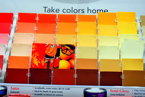 Madeline's wall colors