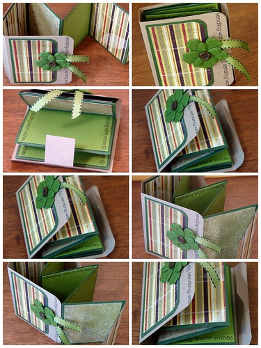 Decorative Fold-Out Mini-Book