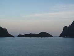 Fishing Boats at Sunset - Thailand