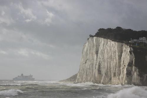 Stormy St Margaret's Bay