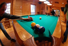 game room at North Haven Resort (North Star and North Haven Resorts) Tags: canada haven plane lunch corporate star fly fishing cabin five north lodge resort manitoba gourmet shore pike float northern spa luxury walleye sauna outpost