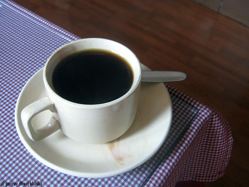 Black coffee by Gaurav Dhwaj Khadka