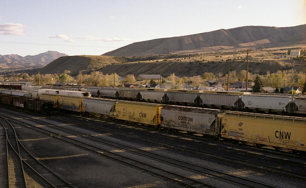 Train Tracks, Pocatello