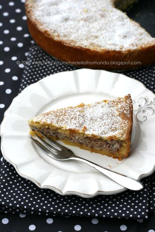Ricotta Birnen Kuchen Foto E Fornelli