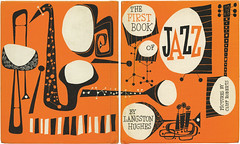 The First Book of Jazz, cover (typeasimage) Tags: 1955 illustration design bookcover cliffroberts franklinwatts