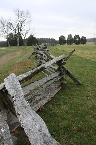 Fence along Robinson Farm Lane