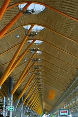 endless (mattjfleet) Tags: travel architecture airport spain richardrodgers madris canon400d madridbarajasinternationalairport