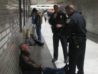 BART Cops Hassling Mohawk