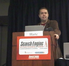 Andy Beal presenting at SES Chicago 2009