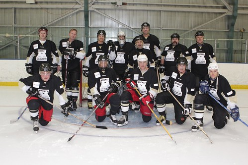 Hockey for the Homeless 2009 Winning Team