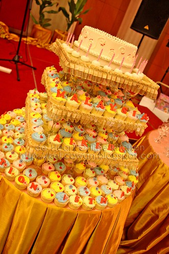 Malaysia Aikido Association 15th Anniversary Tower Cupcakes, Pearl International Hotel - 4 July 2009