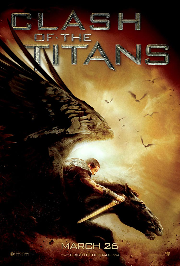 new Clash of the Titans poster