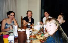 Eating at Anas 1 (markbult) Tags: baa schoolsgroup