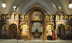 Iconostasis of St. Sava's Serbian Orthodox Church