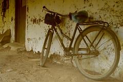 Bicicleta a la espera de un paseo