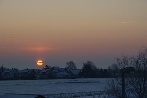 Wunstorf im Winter