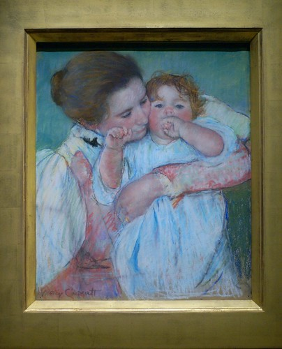 Paris, Musée d'Orsay, Mutter und Kind von Mary Cassatt