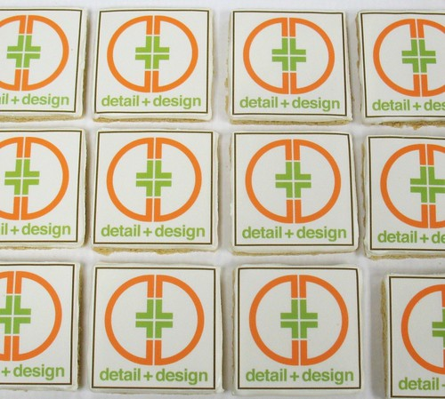 [Image from Flickr]:Detail & Design Logo Cookies