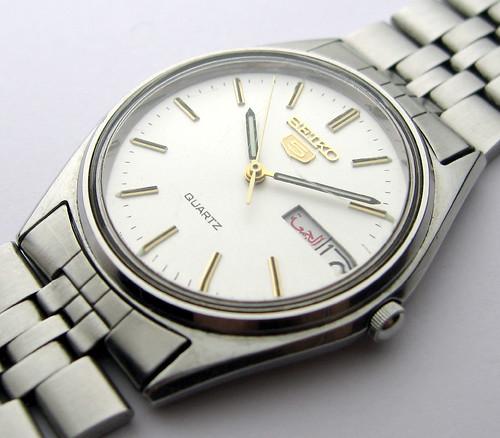 Seiko 5 Quartz Watch