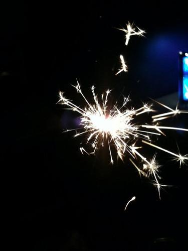 NYE sparkler 1