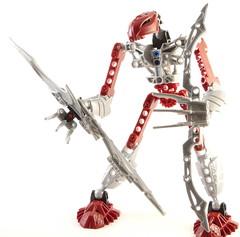 Macro lightbox test: Bionicle