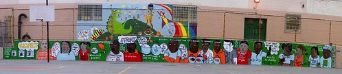 Mural no longer at 103rd and Madison