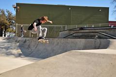 Above and Beyond (Jeff Clow) Tags: youth fun dangerous jump texas skateboarding flight teen balance midair practice extremesports risky sanantoniotexas jeffrclow