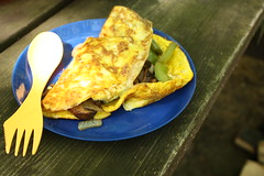 Camp Breakfast: Omelette