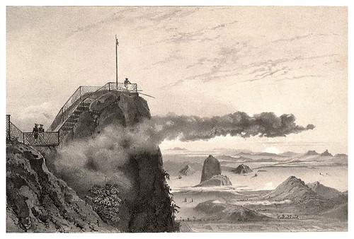 011a- Vista desde la cima del Corcovado-Rio de Janeiro-Journal de la navigation autour du globe… 1837-Barón de Bouganville-fuente BOTANICUS