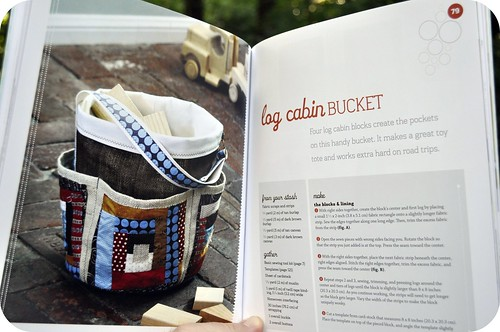 Log Cabin Bucket