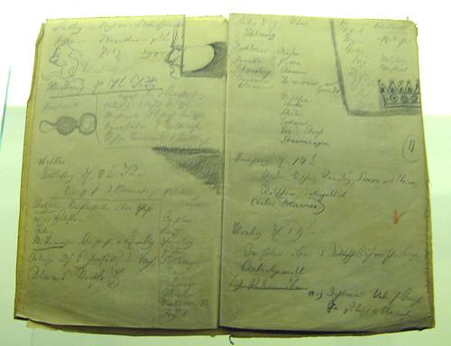 Kritzeleien von Friedrich Theodor Vischer in der Nationalversammlung