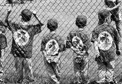 The Lineup (TroyMarcyPhotography.com) Tags: summer bw illinois baseball son normal bloomington tball 70200f4 canont2i
