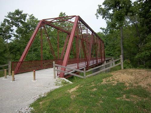 McCloud Footbridge by Meditechguru