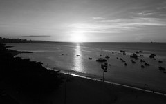 Fortaleza (felipe sahd) Tags: city cidade praia beach brasil mar noiretblanc fortaleza ceará 123bw blackwhitephotos olétusfotos