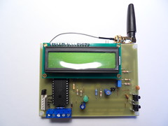 Homemade PCB of GSM Front