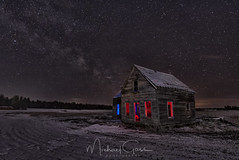 This Old House (NikonDigifan) Tags: lightpainting milkyway astrophotography spanglewashington longexposure tamronlenses tamron tamron1530 wideangle superwideangle niksoftware nikond750 mikegassphotography abandoned old rustic rural farming