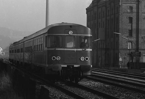 Diesel MU 620 approaching Kulmbach