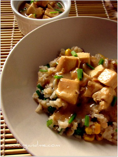 Recipe for Tofu in Peanut Butter Sauce