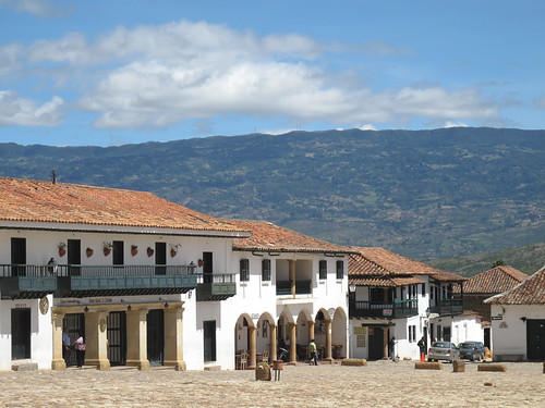 Colonial houses on the main square