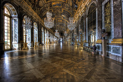Hall of Mirrors, Palace of Versailles (Raf Ferreira) Tags: paris france canon rebel hall mirrors rafael hdr ferreira peixoto xti 400d
