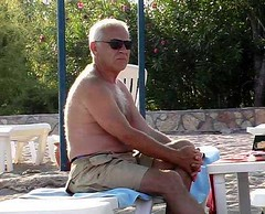 103 (enterle54) Tags: old shirtless hairy men silverdaddies handsomegranddaddy
