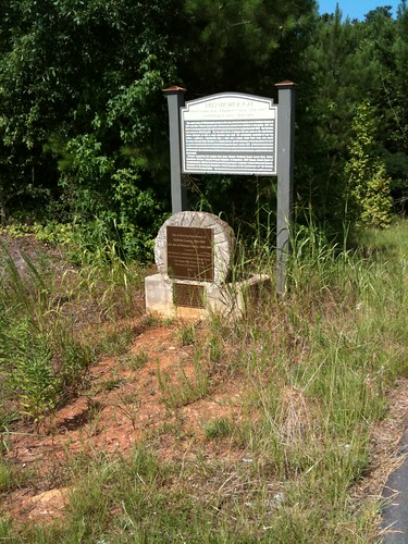 The Site of the First County Seat :Baldwin County 1806, Putnam County 1808