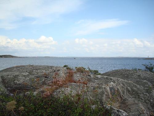 Bild på havet vid Jungfruviken