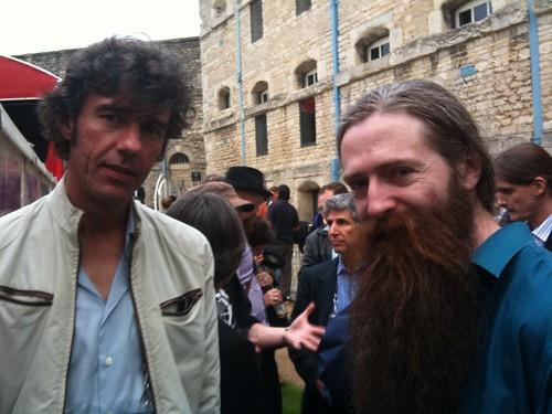 Aubrey de gray and stefan sagmeister