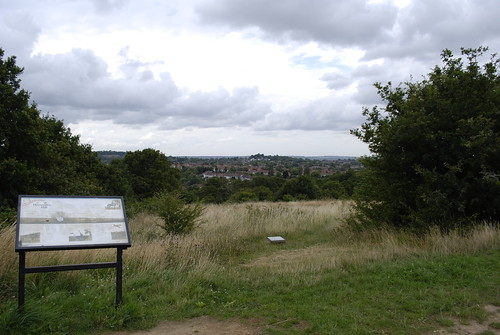 The top of Horsenden Hill