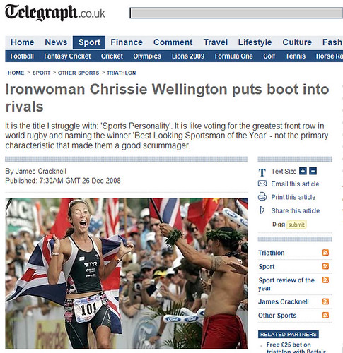 Telegraph.co.uk 26 Dec 2008
