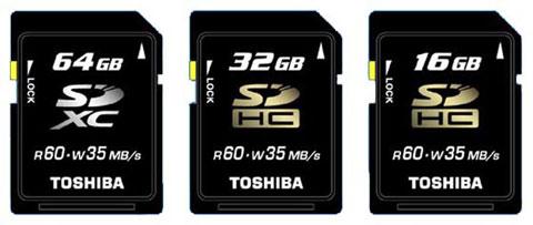 SDXC de 64GB